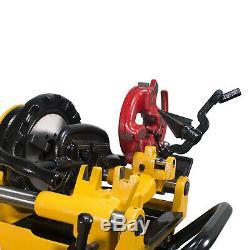 Steel Dragon Tools 300 Compact Pipe Threader Threading Machine 1/2 2 Threads