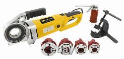 Steel Dragon Tools 550 Portable Hand Held Pipe Threader Threading Machine