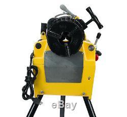 Steel Dragon Tools 7090E 2 Pipe Threading Machine fits RIDGID 811A Die Head