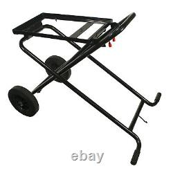 Steel Dragon Tools 7090 Pipe Threading Machine Cart with 10 Wheels