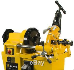 Steel Dragon Tools 7090 Pro Pipe Threading Machine fits RIDGID 811A Die Head