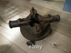 The Toledo NO. 1 Antique Pipe Threading Machine 2 inch Pipe Works! Pat 1904