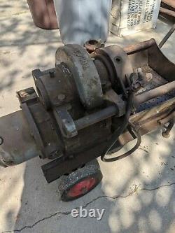 Toledo 999 Pipe Threading Machine #447695 115V AC or DC Plumbing Electrical