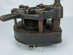 Toledo No. 2 Geared Pipe Threader with 3 Dies machine vintage old manual