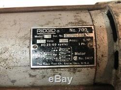 Used Ridgid 700 Pipe Threader Threading Machine 12R