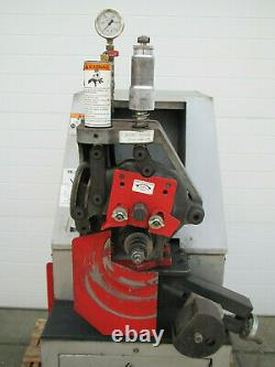 Victaulic VE-268 Hydraulic Pipe Roll Grooving Groover Machine 3/4 12 Used