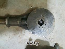 Vintage Toledo No. 2 Geared Threader 2-1/2 3 3-1/2 4 Pipe Threading Machine