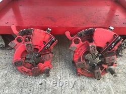 WHEELER-REX 6390 Pipe Threading Machine 1/2-2 & Foot Switch & 2 Manual Opening