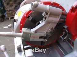 WHEELER-REX 6590 2 1/2 6 Pipe Threader Machine Great Shape RIDGID 1224