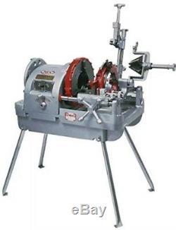 WHEELER-REX 6590 2-1/2 to 6 PIPE THREADING MACHINE RIDGID 1224 300 161 141
