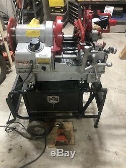 WHEELER-REX 6790 Threading Machine 1/2- 4