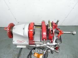 WHEELER REX Model 6090 Pipe Threader 120V 2 Dies 1/2-2 L@@K 7090 8090