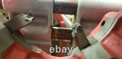 Wheeler Rex 6590 2-1/2-4 Pipe Threader Machine Tool 120V. 3-Cracked Dies