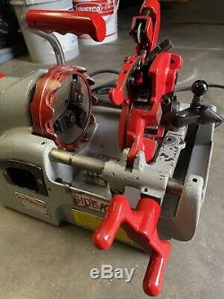 Wheeler Rex 7991 Sidekick Pipe Threader Machine Mini 1/2 To 1